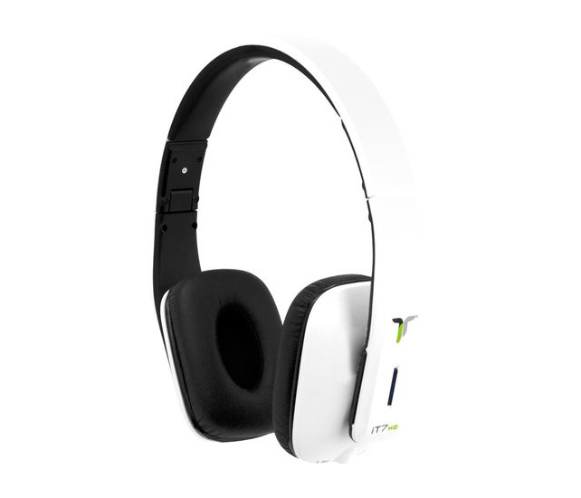 iT7x1 Bluetooth Headphones White